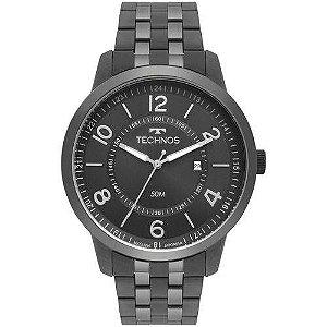 Relógio Masculino Technos Steel Grafite - 2115MSS/4C