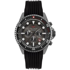 Relógio Technos Masculino Grafite Skymaster - JS25CC/8P