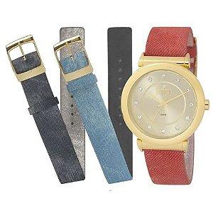 Relógio Dumont Feminino - Du2036Ltq/2D