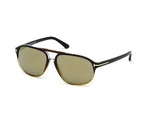 Óculos de Sol Tom Ford Masculino - FT0447 6005C