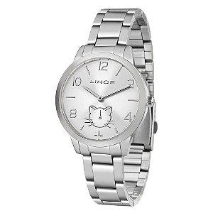 Relógio Condor Prateado Feminino  CO2035MQW/4C