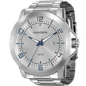 Relógio Prata Mondaine Masculino 94901G0MVNE1