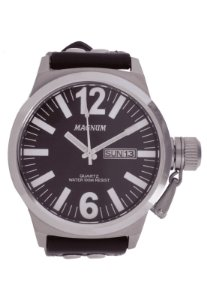 Relógio Masculino Prata Magnun MA31524V