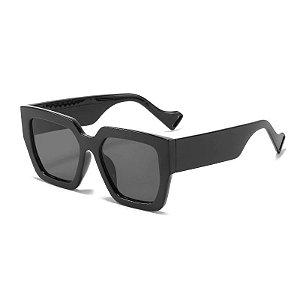Óculos de Sol Coleção Carol Schutz Inverno 2021 Quadrado Preto