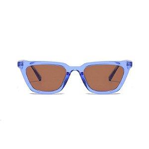 Óculos de Sol Coleção Carol Schutz Inverno 2021 Gatinho Azul