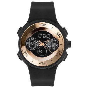 Relógio Anadigi Mormaii MO160323AM8J Masculino