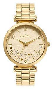Relógio Condor Dourado CO2036MVP/4D Feminino