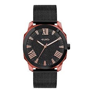 Relógio Euro Collection Preto EU2035YSS/7P Feminino