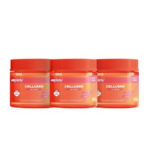 Cellumis Kit com 3 300g Sabor Uva