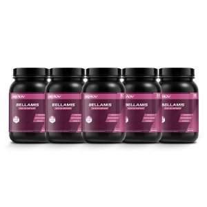 Bellamis Kit com 5 1000mg 90 Cápsulas