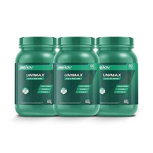 Kit com 3 Unimax 60g 60 Cápsulas