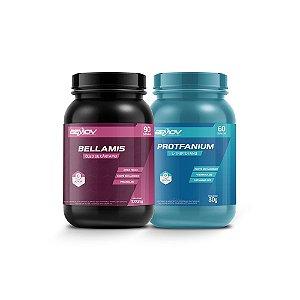 Kit com Bellamis 1000mg 90 Cápsulas + Protfanium 30g 60 Cápsulas