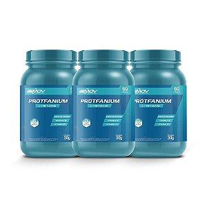 Kit com 3 Protfanium 30g 60 Cápsulas