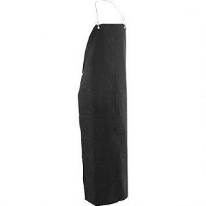 Avental de PVC preto com forro 1,20 m x 0,70 m VONDER