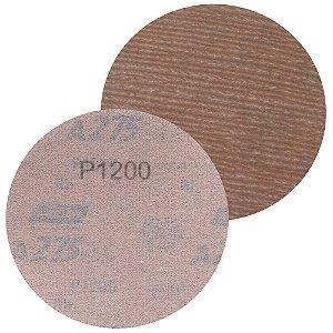 Disco de Lixa Pluma A275 Sem Furo Grão 1200 - 127 mm