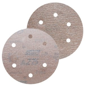 Disco de Lixa Pluma A275 Com 6 Furos Grão 320 - 152 mm