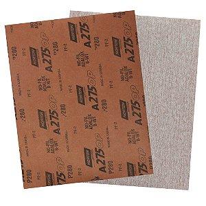 Folha de Lixa A275 Grão 280 - 230 x 280 mm