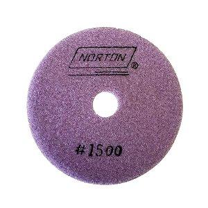 Disco de Lixa Diamantada Flexível Brilho D'Água Grão 1500 - 100 x 20 mm
