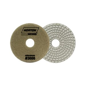 Disco de Lixa Diamantada Flexível Brilho D'Água Grão 3000 - 100 x 20 mm