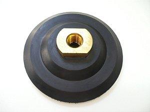 Suporte Disco de Lixa Diamantada Flexível Brilho D'Água - 100 mm Rosca M14