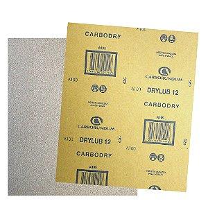 Folha de Lixa CAR12 DryLub Grão 100 - 225 x 275 mm