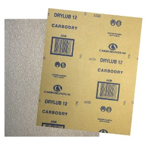 Folha de Lixa CAR12 DryLub Grão 220 - 225 x 275 mm