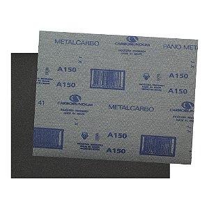 Folha de Lixa Ferro CAR41 Grão 150 - 225 x 275 mm