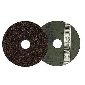 Disco de Lixa Fibra CAR55 Grão 24 115 x 22 mm
