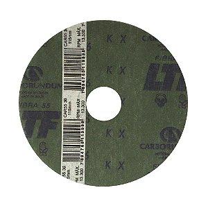 Disco de Lixa Fibra CAR55 Grão 36 115 x 22 mm