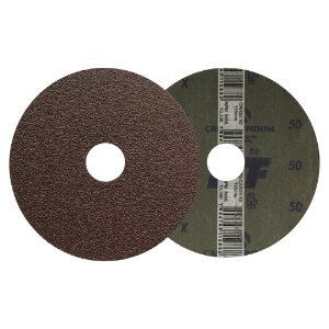 Disco de Lixa Fibra CAR55 Grão 50 115 x 22 mm