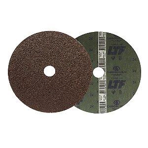 Disco de Lixa Fibra CAR55 Grão 24 180 x 22 mm