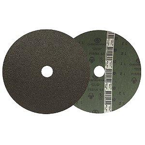 Disco de Lixa Fibra CAR52/CAR53 Grão 60 180 x 22 mm