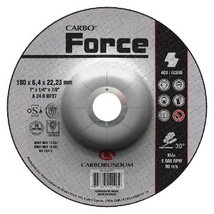 Disco de Desbaste Carboforce 180 x 6,4 x 22,23 mm