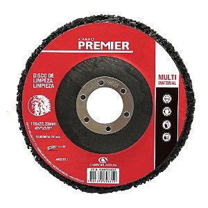 Disco de Limpeza Premier Multimaterial - 115 x 22 mm