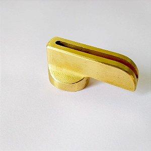 Botão para Facas - Latão com Guarda - 40 mm
