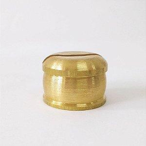 Botão para Facas - Latão Modelo 4 - 25 mm