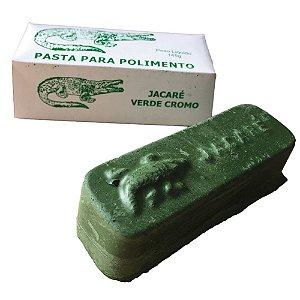Pasta para Polimento Abrasivo Verde Cromo - 145 g
