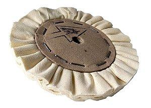 Disco de Polimento Ventilado Algodão Puro - 150 mm
