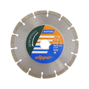 Disco de Corte Clipper Segmentado Diamantado 180 x 25,4 mm