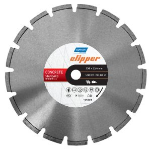 Disco de Corte Clipper Segmentado Diamantado Concreto Standard 350 x 25,4 mm