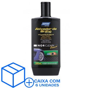 Caixa com 6 Ativador de Brilho NorClean Power 500 ml