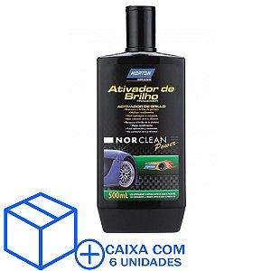 Caixa com 6 Ativador de Brilho NorClean Power 500 ml
