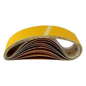 Caixa com 50 Cintas de Lixa Estreita Adalox Pano K121 Grão 100 533 x 75 mm