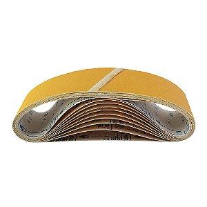 Caixa com 50 Cintas de Lixa Estreita Adalox Pano K121 Grão 120 533 x 75 mm