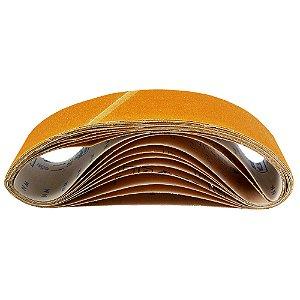 Caixa com 50 Cintas de Lixa Estreita Adalox Pano K121 Grão 150 610 x 75 mm