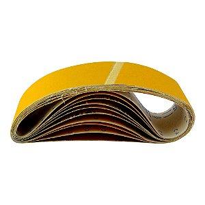 Caixa com 50 Cintas de Lixa Estreita Adalox Pano K121 Grão 80 533 x 75 mm