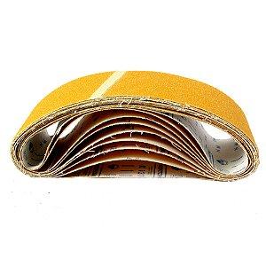 Caixa com 50 Cintas de Lixa Estreita Adalox Pano K131 Grão 40 610 x 75 mm
