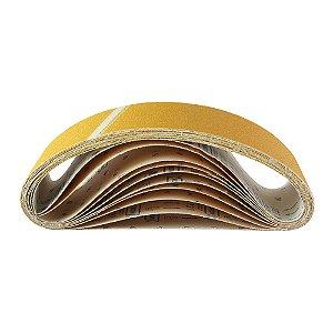 Caixa com 50 Cintas de Lixa Estreita Adalox Pano K131 Grão 60 610 x 75 mm