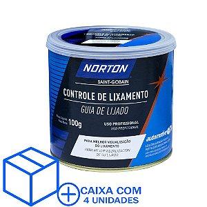 Caixa com 4 Controle de Lixamento Norton 100 g