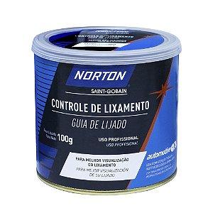 Controle de Lixamento Norton 100 g Caixa com 4